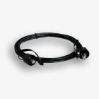 Kabel krosowy przemysłowy EmiterNet FTP kat. 6 czarny 2m