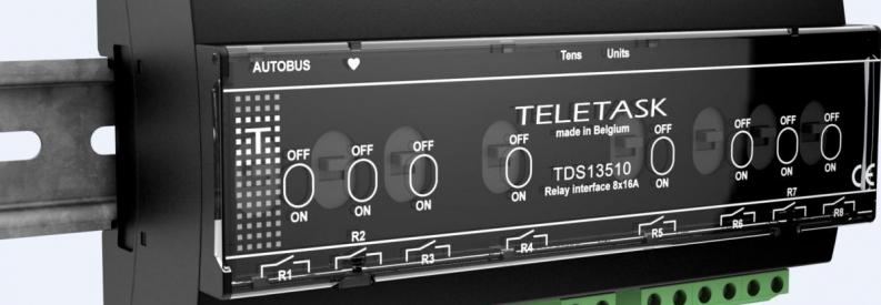 moduł przekaźników Teletask