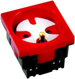 Gniazdo zasilająca DATA czerwone