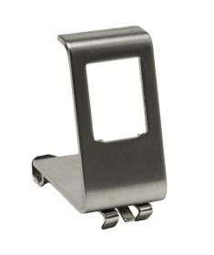 Adapter na szynę DIN do gniazda typu keystone, metalowy