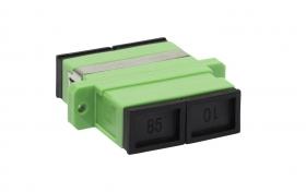 adapter światłowodowy monomodowy SC APC SM duplex EmiterNet EM_ADSCAPCSMDX