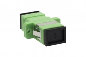 adapter światłowodowy monomodowy SC APC SM simplex EmiterNet EM_ADSCAPCSMSX