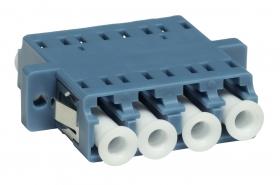 adapter światłowodowy monomodowy LC UPC SM quad EmiterNet EM/ADLCPCSMQD