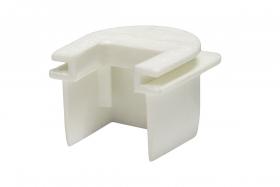 Łącznik z puszką natynkową i osprzętową E 20x18 K/PU/ biały