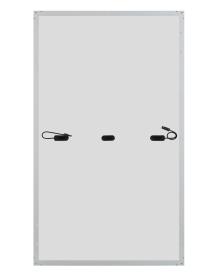 panel PV JA Solar rama srebrna tył