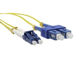 Patchcord duplex SM G.652D 9125 SC/UPC-LC/UPC EmiterNet