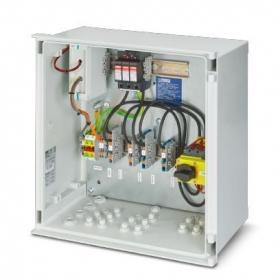 Skrzynka przyłączeniowa generatora do systemów fotowoltaicznych dla 1 MPPT, z rozłącznikiem przeciwpożarowym DC, PC-PV-SET1ST_1300FS