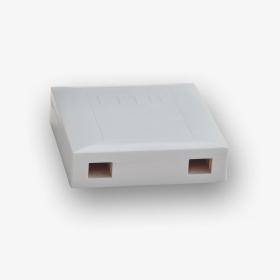 Przełącznica światłowodowa naścienna na 2 adaptery SC simplex