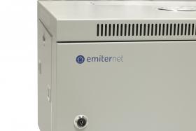 szafa 19 wisząca niedzielona EmiterNet, drzwi blacha gł. 450mm EM/AP6406-B