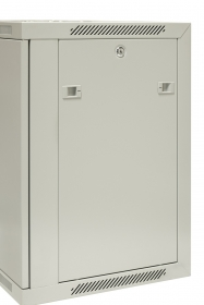 szafa 19 wisząca niedzielona EmiterNet, drzwi blacha gł. 450mm EM/AP6412-B