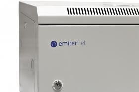 szafa 19 wisząca niedzielona EmiterNet, drzwi blacha gł. 600mm EM/AP6606-B