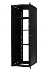 Szafa serwerowa ramowa stojąca EmiterNet Top-S (drzwi z szybą) EM/NDB-6042CZ-S