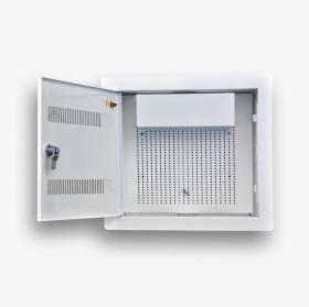 Telekomunikacyjna skrzynka mieszkaniowa EmiterNet TSM-PW1Z otwarta