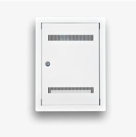 Telekomunikacyjna skrzynka mieszkaniowa EmiterNet TSM-PW2Z zamknięta