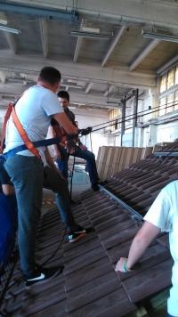 PV na dachu